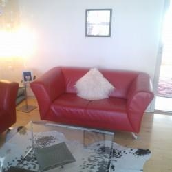 Læder sofa 2+3 personer