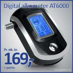 Digital Alkometer AT6000